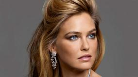 Bar Refaeli Face Closeup At Piaget's Rose Collection 2012