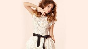 Barbara Palvin In White Transparent Dress Lazy Photoshoot