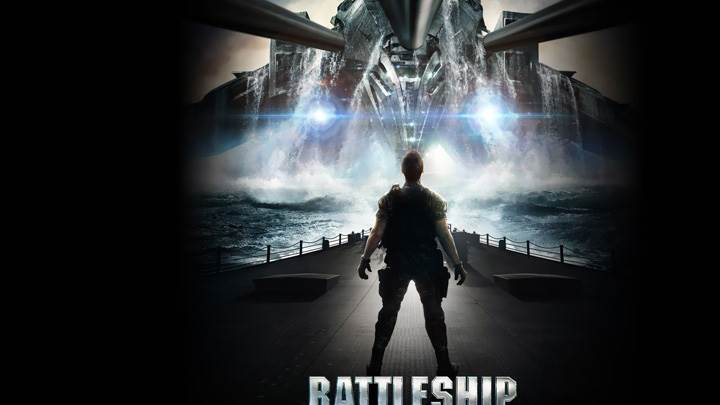 Battleship – Giant Ship Movie Cover Poster