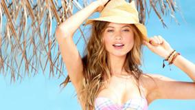 Behati Prinsloo Wearing Hat Beautiful Pose Photoshoot