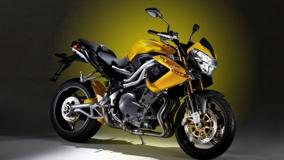 Benelli Tornado Naked Tre 1130 Side Pose In Yellow