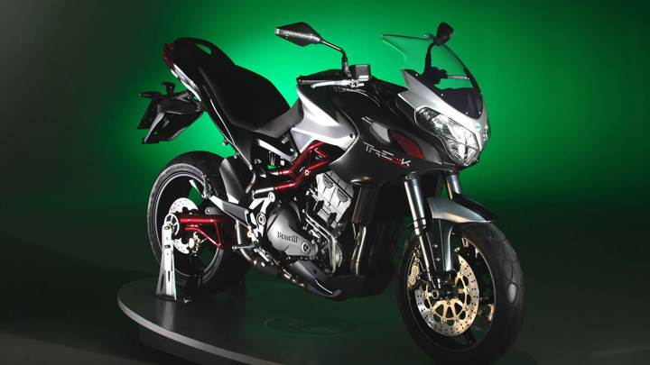 Benelli Tre 1130 K Stylish Side Front Pose In Black