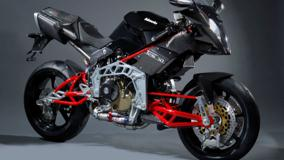 Bimota Tesi 3D In Black Side Pose