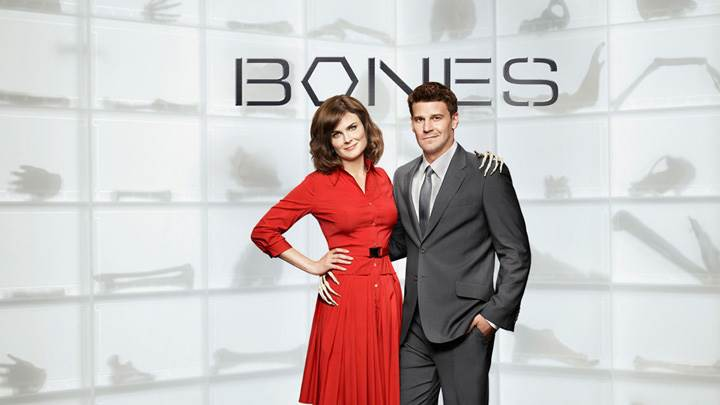 Bones – David Boreanaz And Emily Deschanel Smiling