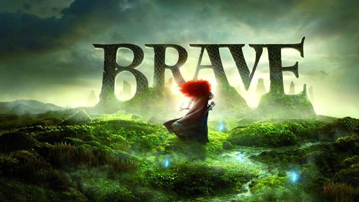 Brave – Movie Logo In Greenery