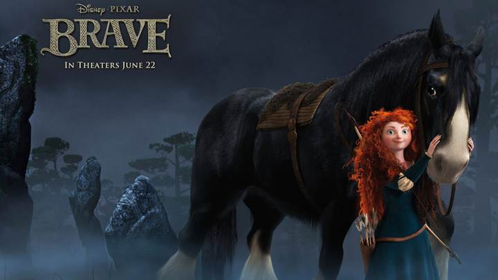 Brave – Princess Merida With Horse