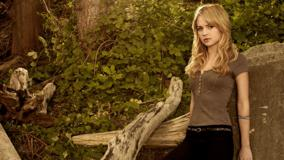 Britt Robertson In Top N Jeans Sad Pose