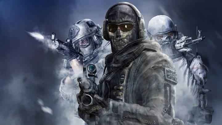 Call of Duty- Modern Warfare – Wearing Helmet And Gun In Hand