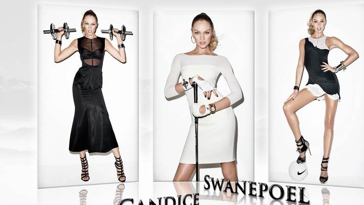 Candice Swanepoel In Three Different Pose Photoshoot