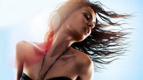 Catrinel Menghia Wet Body N Wet Hairs Photoshoot