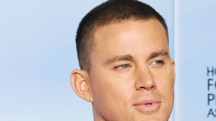 Channing Tatum Face Closeup At Event