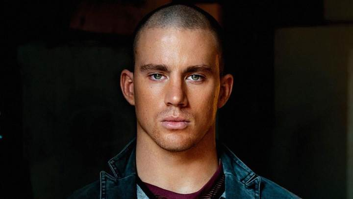 Channing Tatum Looking Front And Front Pose