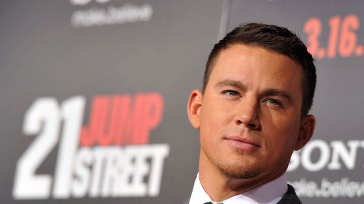 Channing Tatum Looking Smart In 21 Jump Street Movie Event