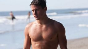 Channing Tatum Nice Wet Body After Bath Near Sea