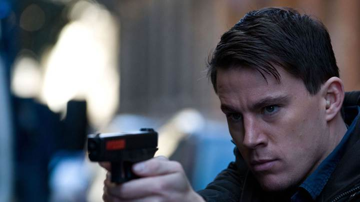 Channing Tatum Shoot With Gun