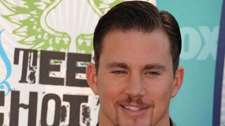 Channing Tatum Smiling Face Closeup At Event