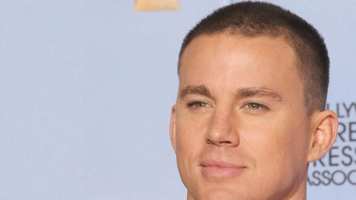 Channing Tatum Smiling Face Closeup