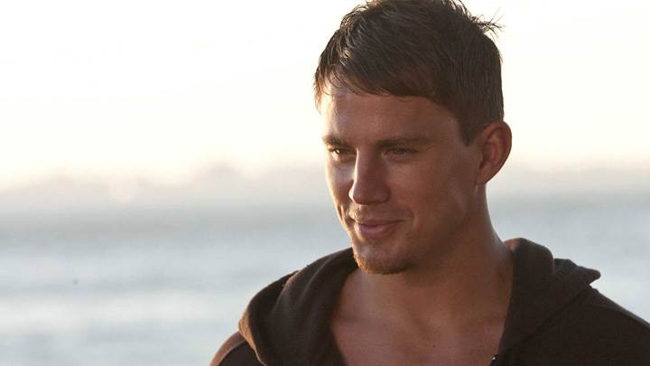 Channing Tatum Smiling Near Sea Side