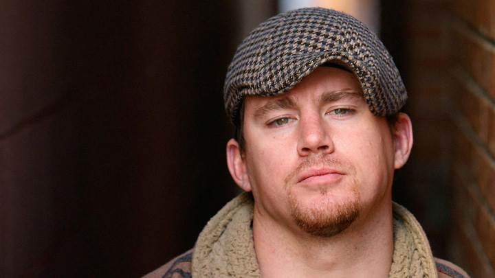 Channing Tatum Wearing Cap And Looking Front