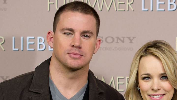 Channing Tatum With Rachel McAdams At Event Photoshoot