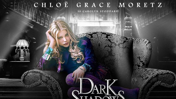 Chloe Grace Moretz as Carolyn Stoddard in Dark Shadows
