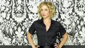 Christina Applegate Cute Little Smile In Black Shirt