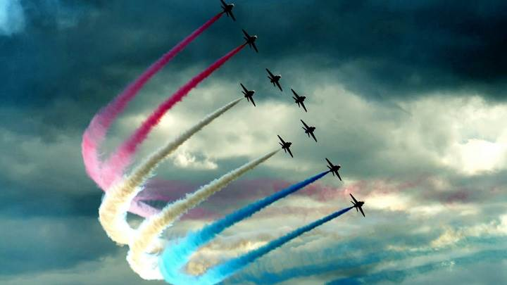 Colorful Air Show