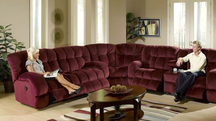 Dark Brown Sofa Set For Relaxing