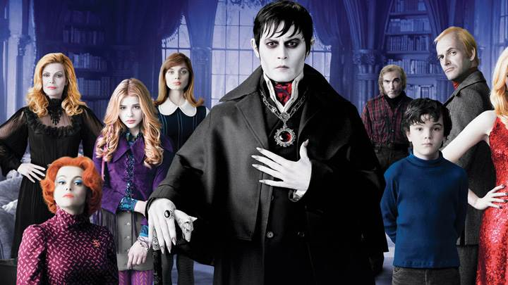 Dark Shadows – Movie Cover Poster