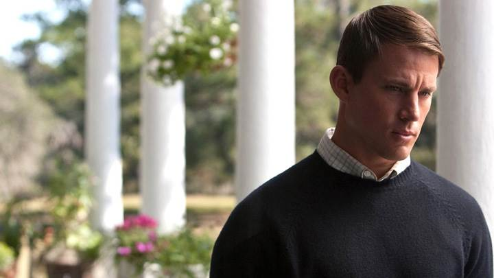 Dear John – Channing Tatum Looking Sad In Woolen Dress