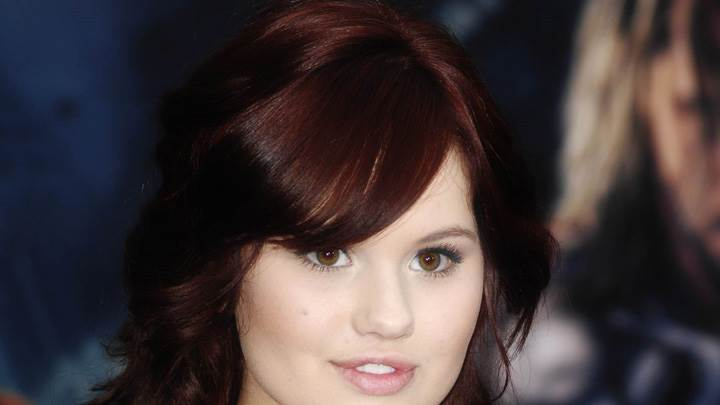 Debby Ryan Cute Eyes N Pink Lips Face Closeup