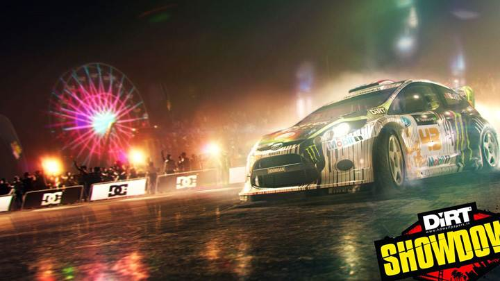DiRT Showdown – Car Outside The Fair