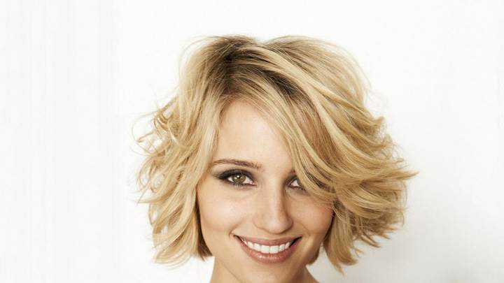 Dianna Agron Sweet Smiling Face Closeup