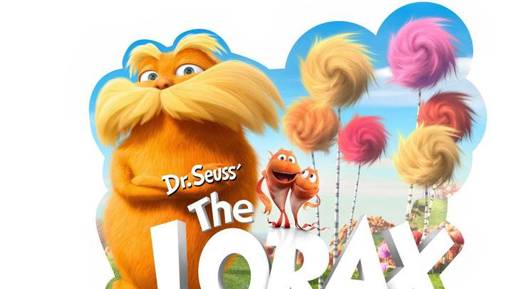 Dr. Seuss' The Lorax – White Background