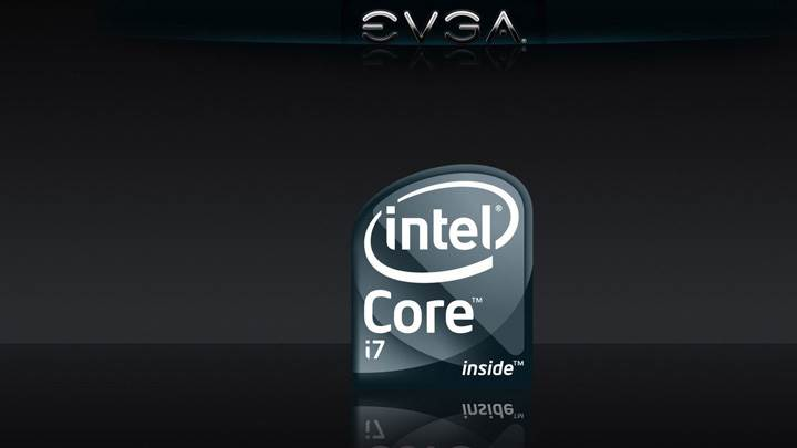 EVGA Intel Core i7 And Black Background
