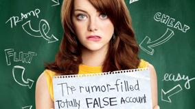 Easy A – Emma Stone Movie Cover Poster