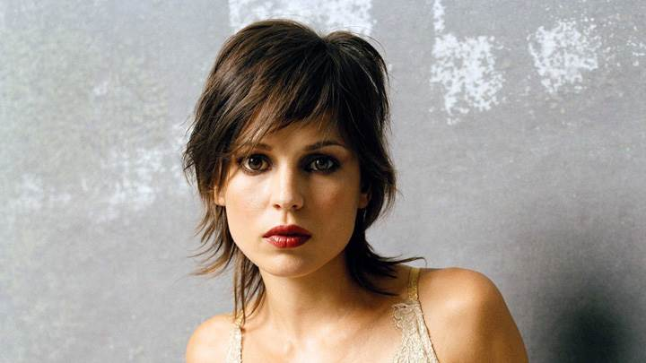 Elena Anaya Red Lips And Looking At Camera