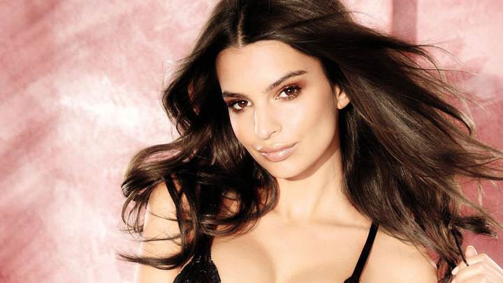 Emily Ratajkowski Smile On Her Face