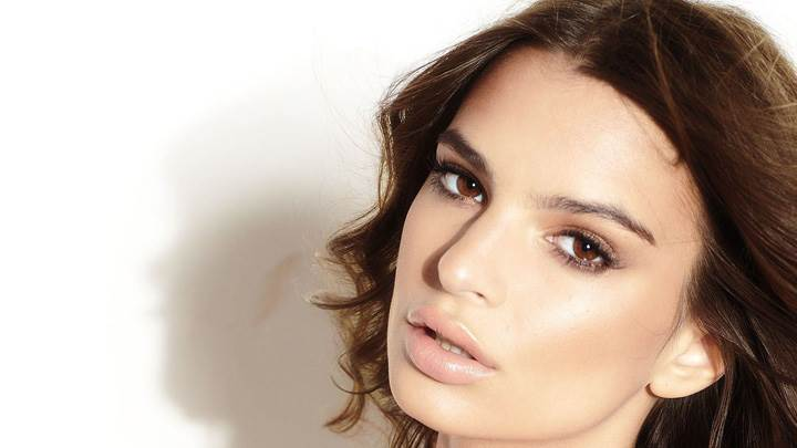 Emily Ratajkowski Side Face Closeup