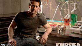 Eureka – Niall Matter Sitting And Looking Font