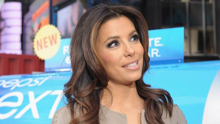 Eva Longoria Looking At Pepsi Promotion Event