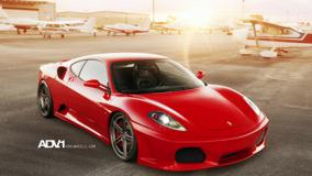 Ferrari F430 Adv1 In Red Side Pose