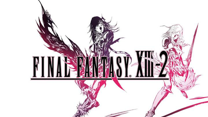 Final Fantasy XIII-2 – White Background