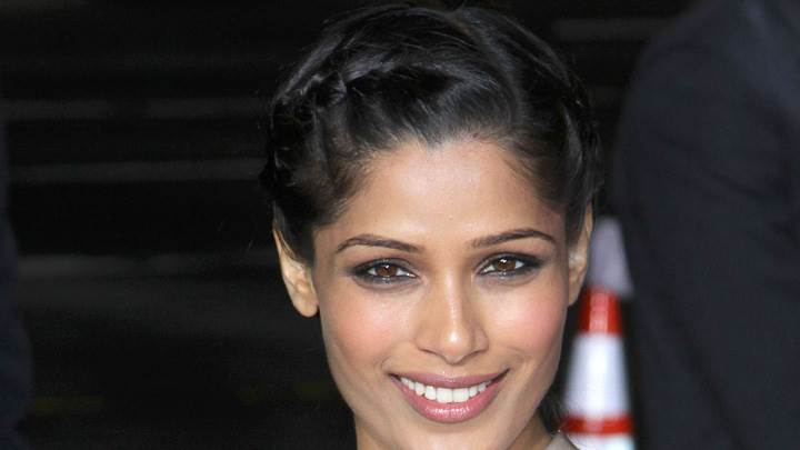 Freida Pinto Face Closeup At Immortals Premiere