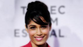 Freida Pinto Face Closeup At Tribeca Trishna Screening Event
