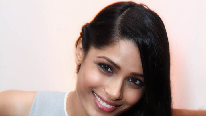 Freida Pinto Smiling At Nylon Magazine 13th Anniversary Celebration