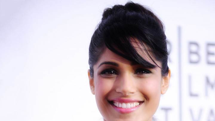 Freida Pinto Smiling At Tribeca Trishna Screening