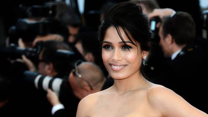 Freida Pinto Sweet Smiling At Moonrise Kingdom Premiere