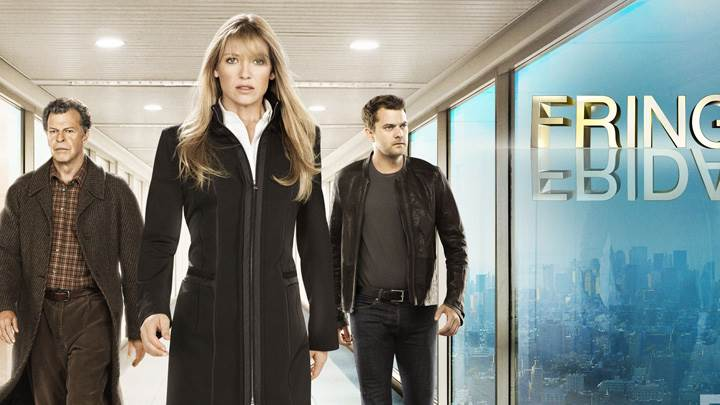 Fringe – Joshua Jackson, John Noble and Anna Torv