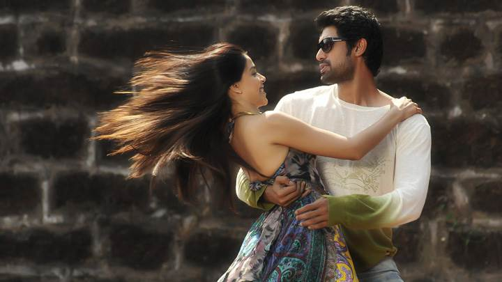 Genelia D'Souza And Rana Daggubati Hugging N Looking In Naa Ishtam